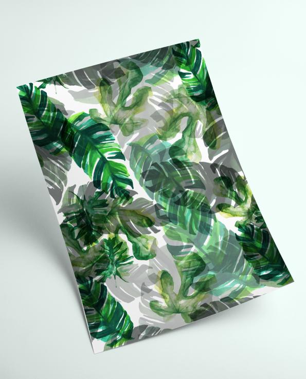 A4 Tropics Print